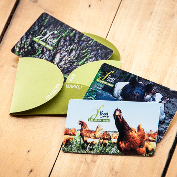 Food Dance Gift Cards